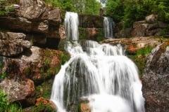 Vodopád na Jedlové